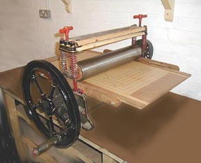 Dreaming of a hand printing press   From The Jam Factory