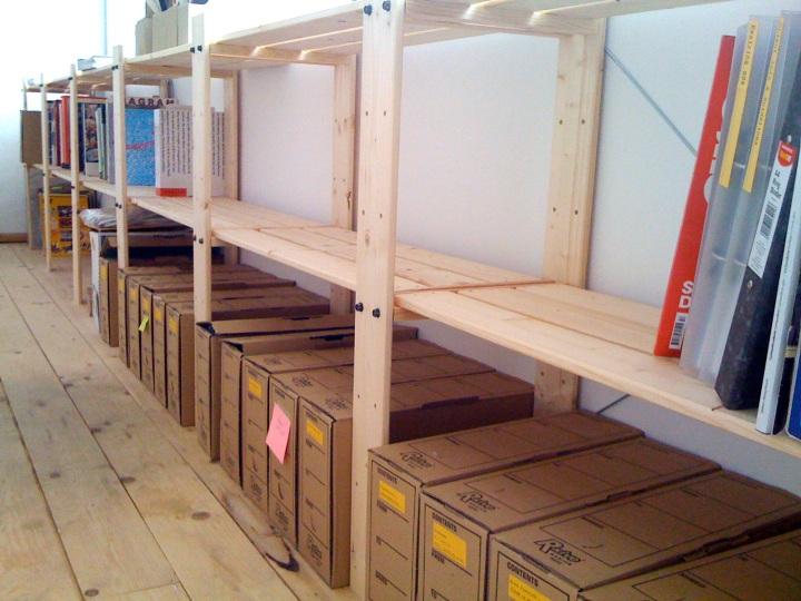 Ikea shelves rock
