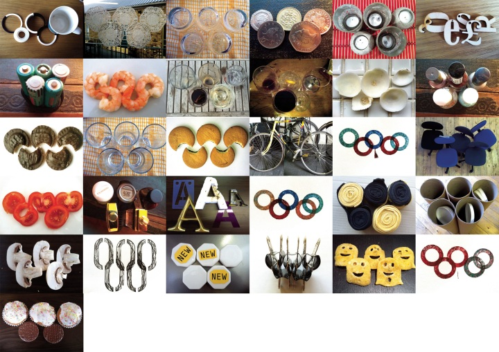Olympic logo a day month 1