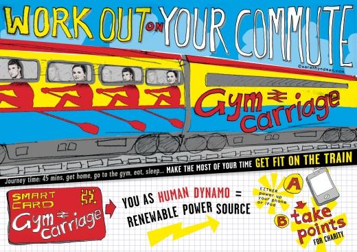 Gym Carriage by Sarah Hyndman