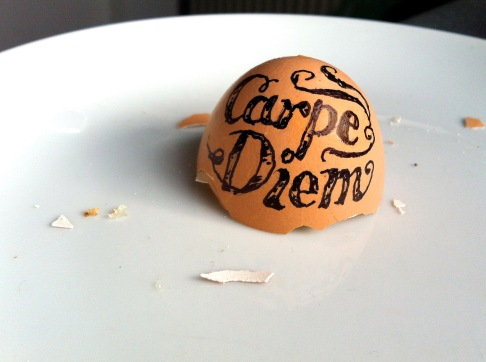 eggy carpe diem